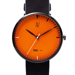 "【NEW YEAR SALE 30%OFF】ALIVE × THIS by INARI ""THIS IS IT"" WATCH & EYEWEAR SET ORANGE"