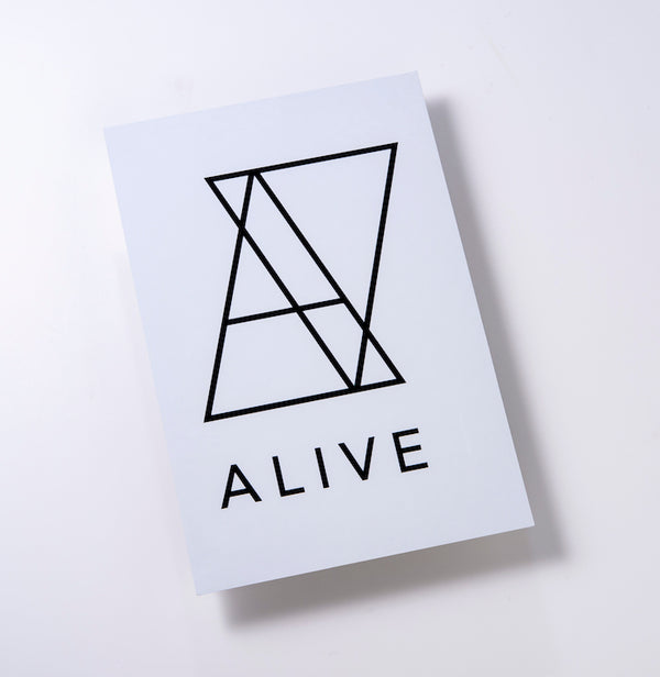 LOGO STICKER White