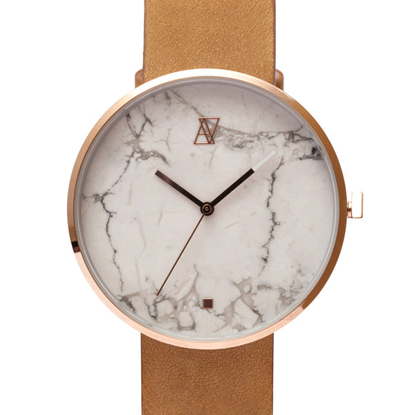 MARBLE GRAPHICS RoseGold / White