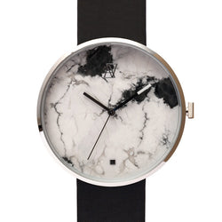 MARBLE GRAPHICS Silver/Black