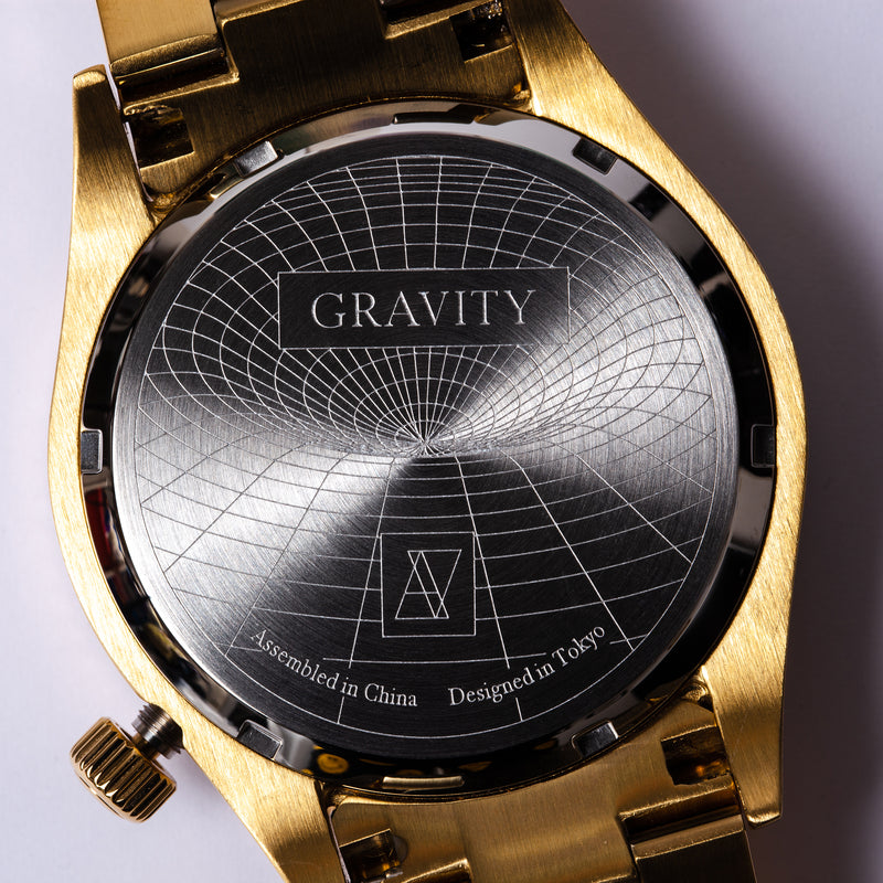 【キズあり 40%OFF】GRAVITY Gold / Navy