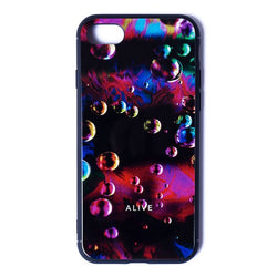 【NEW YEAR SALE 30%OFF】ALIVE iPhone Case (7/8, 7/8 Plus, X/XS, X Max, XR) NEON BUBBLE