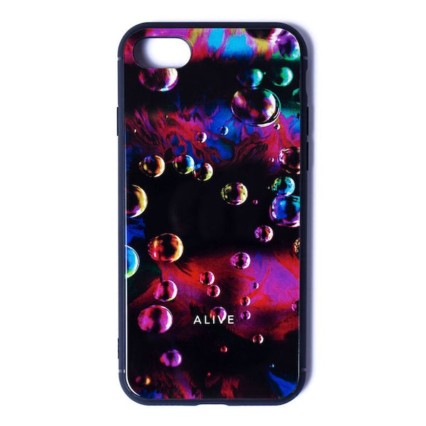 ALIVE iPhone Case (〜XR) NEON BUBBLE