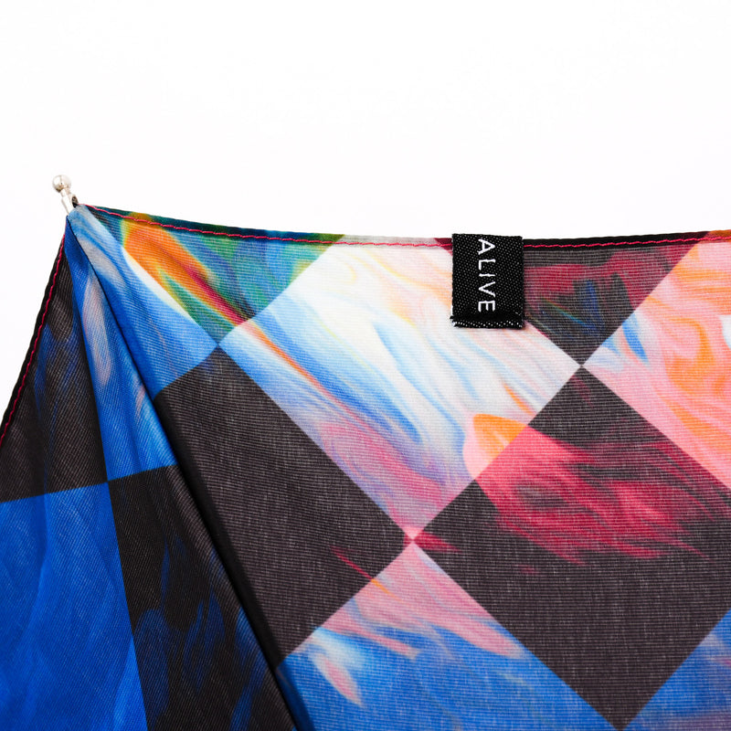 【NEW YEAR SALE 60%OFF】ALIVE UMBRELLA Automatic Open Close Trippin' Plaid