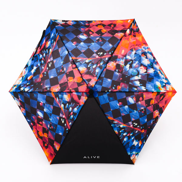 ALIVE UMBRELLA Automatic Open Close Trippin' Plaid
