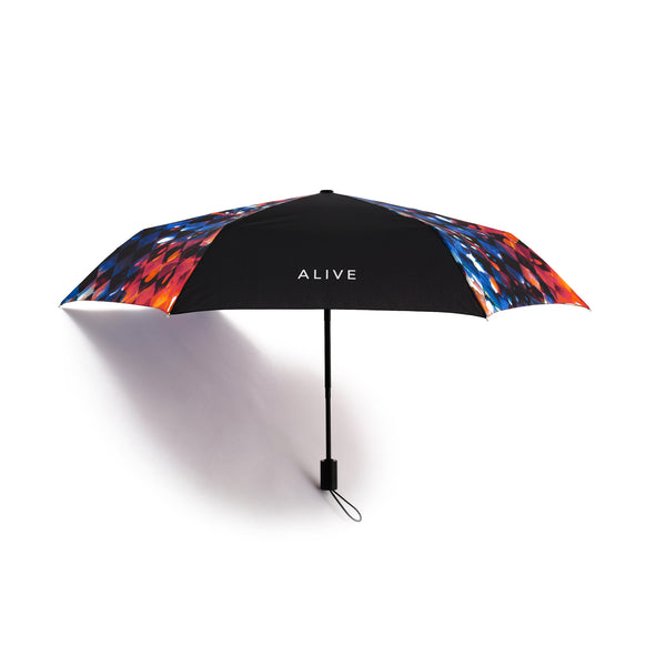 ALIVE UMBRELLA 自動開閉傘 Trippin' Plaid