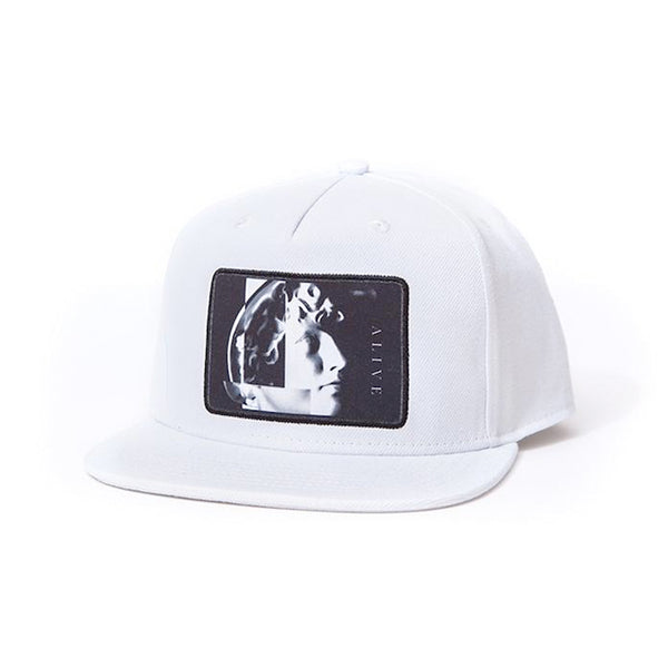 【SALE 70%OFF】ALIVE HAT NARCIST White