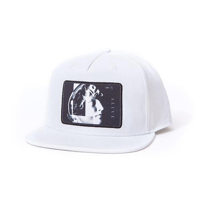 ALIVE HAT NARCIST White