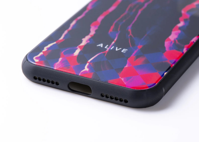 ALIVE iPhone Case (7/8, 7/8 Plus, X/XS, X Max, XR, 11, 11 Pro, 11 Pro Max)PSYCHE FLOW