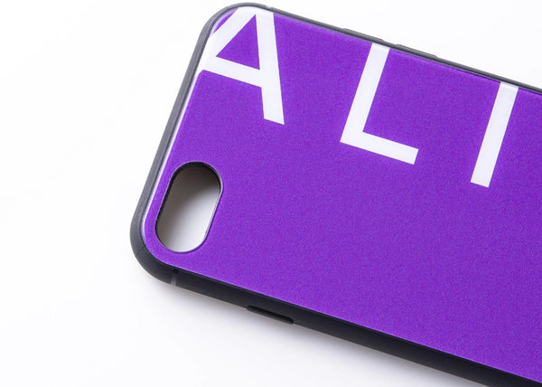 ALIVE iPhone Case (7/8, 7/8 Plus, X/XS, X Max, XR, 11, 11 Pro, 11 Pro Max)PURPLE LOGO