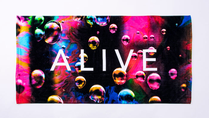 【SALE 30%OFF】NEON BUBBLE BEACH TOWEL