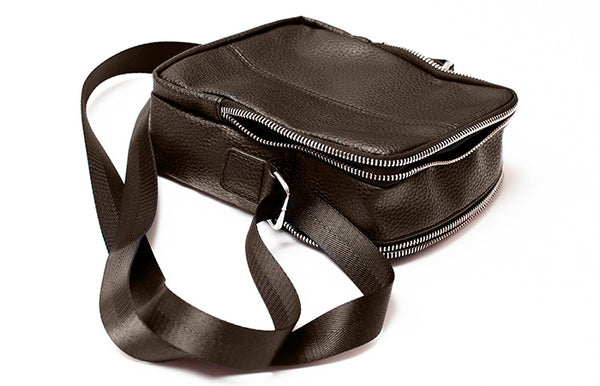 ALIVE MESSENGER BAG Dark Brown