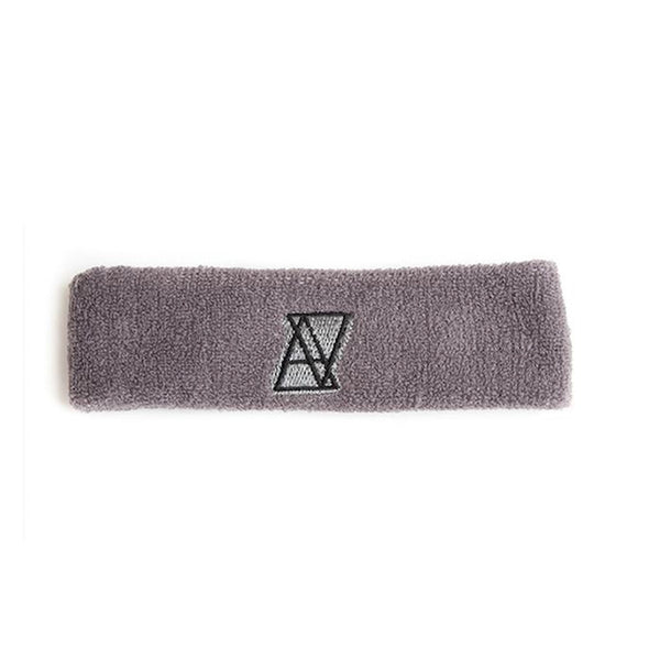 【SALE 50%OFF】ALIVE LOGO HEADBAND Gray