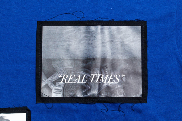PALM TIME TEE Blue