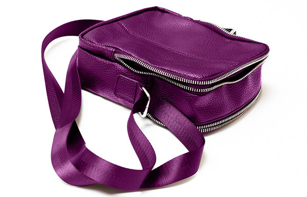 ALIVE MESSENGER BAG Purple