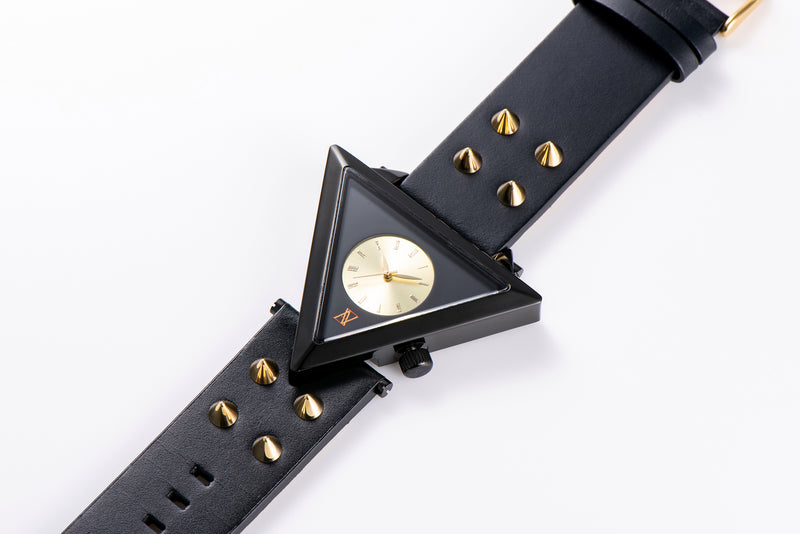 A-FRAME STUDS BELT Gold