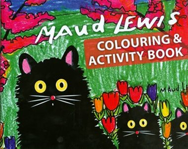 Maud Lewis Colouring & Activity Book - Bluenose2CompanyStore