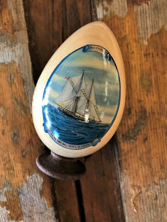 Bluenose II Wooden Ornament - Bluenose2CompanyStore