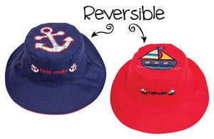 Flapjack Kids Hat Anchor/Sailboat