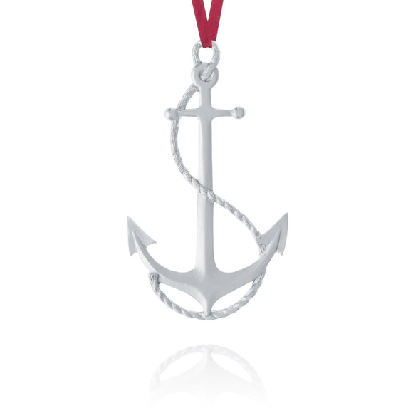 Anchor Ornament - Amos Pewter - Bluenose2CompanyStore