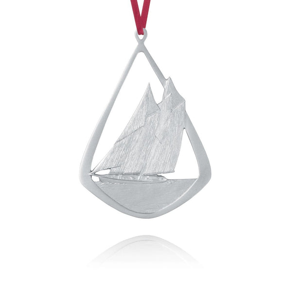 Bluenose Ornament - Amos Pewter - Bluenose2CompanyStore