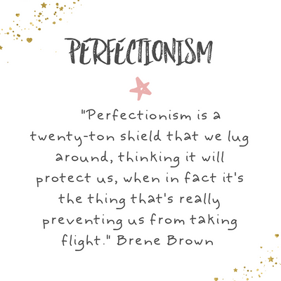 Let Go of Perfectionism