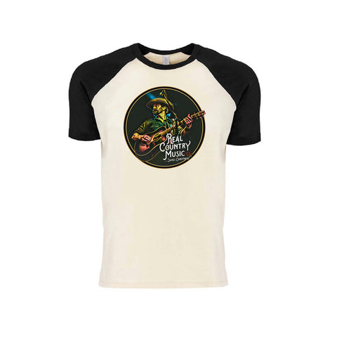 Real Country Music Baseball T-Shirt