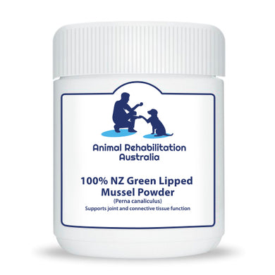 100% NZ Green Lipped Mussel Dog Supplement Powder GlycOmega 1kg - Animal Rehabilitation Australia