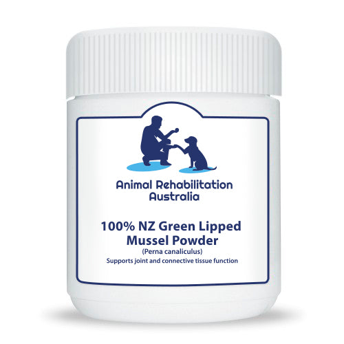 100% NZ Green Lipped Mussel Supplement Powder GlycOmega 500g - Animal Rehabilitation Australia