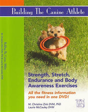 DVD Building The Canine Athlete - Strength, Stretch, Endurance & Body Awareness Exercises - Animal Rehabilitation Australia