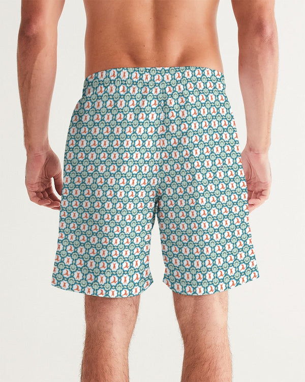 Pirate Jacks Green Men's Swim Trunk