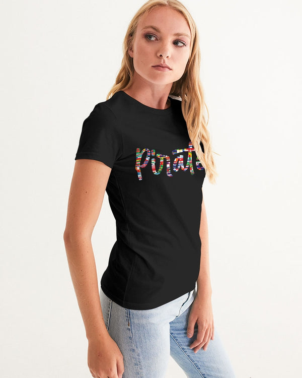 Pirates Flags Women's Graphic Tee