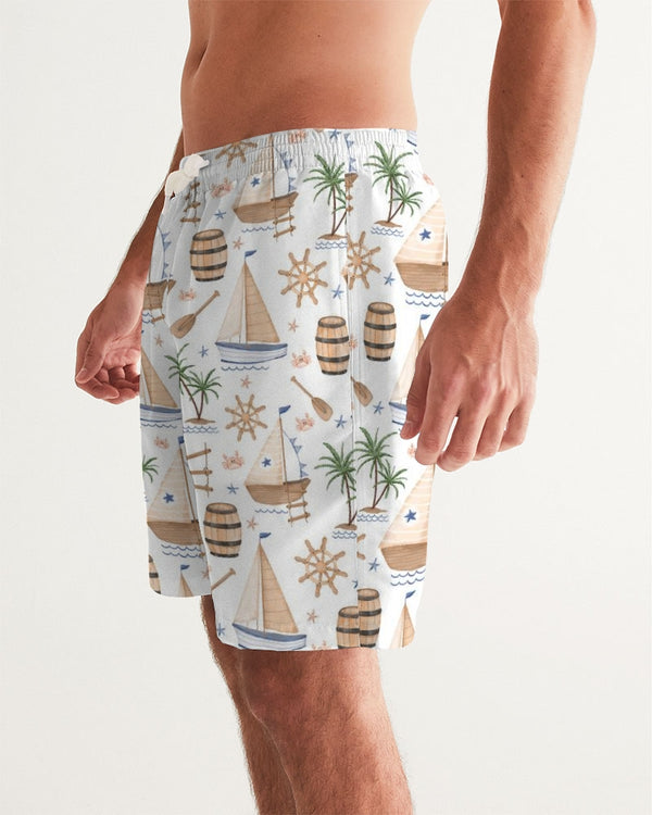 Pirates Marina Men's Swim Trunk - HMC Brands