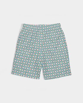 Pirate Jacks Green Boy's Swim Trunk