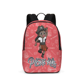 Pirate Kids Ms. Treasure Large Backpack - BLK