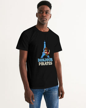 Bonjour Pirates Men's Graphic Tee