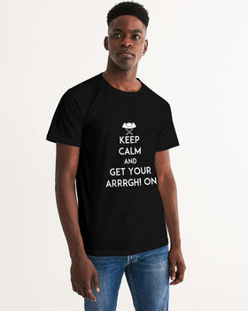 Pirates Keep Calm Men's Graphic Tee