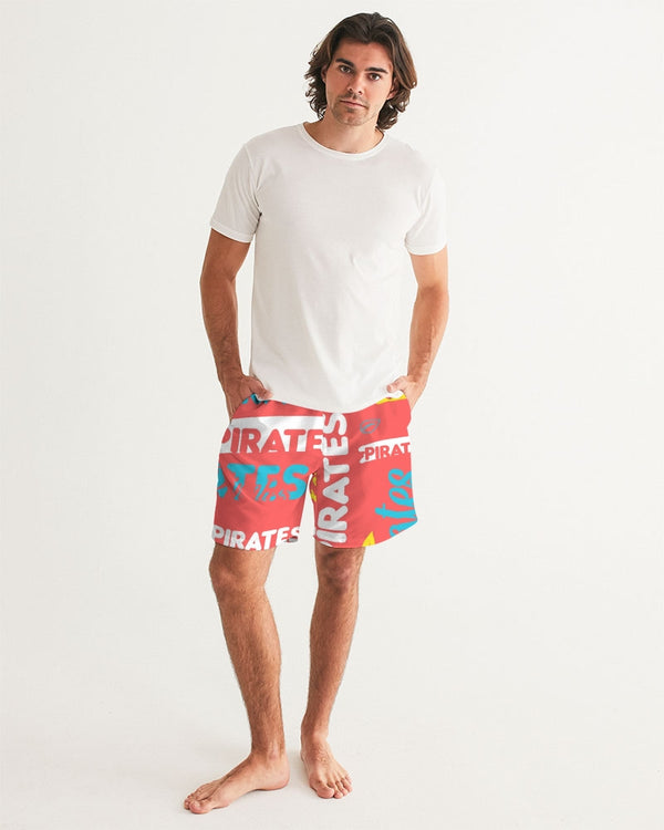 Starburst Pirates Men's Swim Trunk