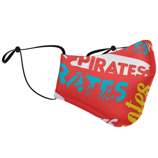 Pirates Name Starburst Face Mask - HMC Brands