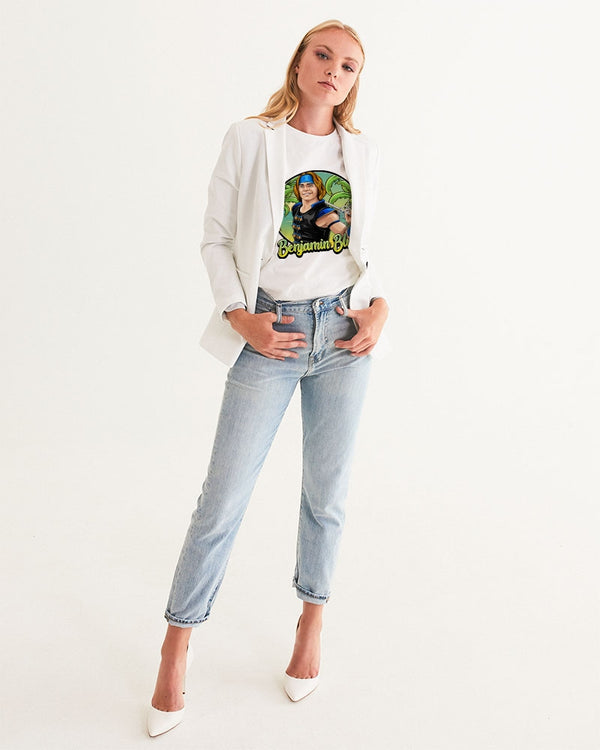 Benjamin Blue Cartoon Character Women's Graphic Tee - HMC Brands