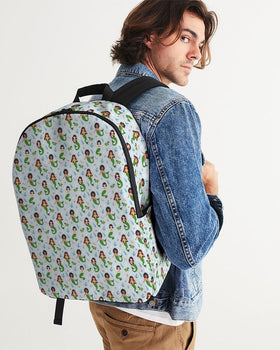 Turtles and Mermaids Large Backpack