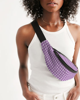 Purple Dance Adventures Crossbody Sling Bag