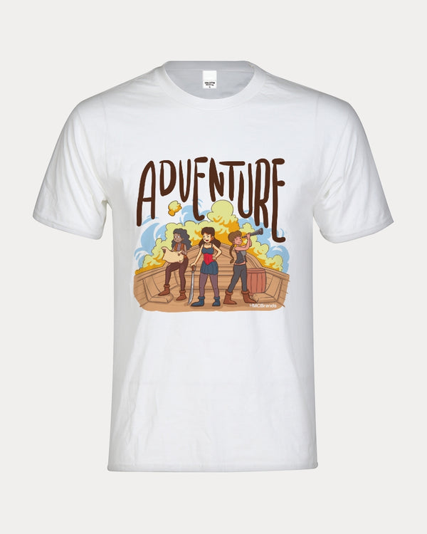 Girl Pirates Adventures Kids Graphic Tee - HMC Brands