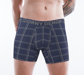 Boxer Briefs - MidWest Blu Horny Demon Men's Underwear