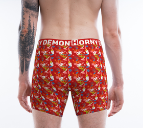 Boxer Briefs - Circuit Horny Demon Men's Underwear