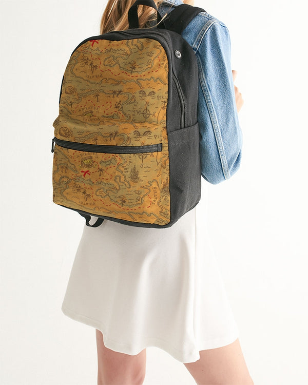 Pirate Bay Small Canvas Backpack