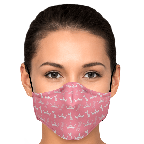 Crowns and Fins Face Mask - HMC Brands