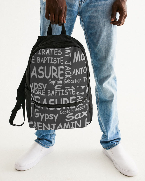 Pirates Castout Small Canvas Backpack
