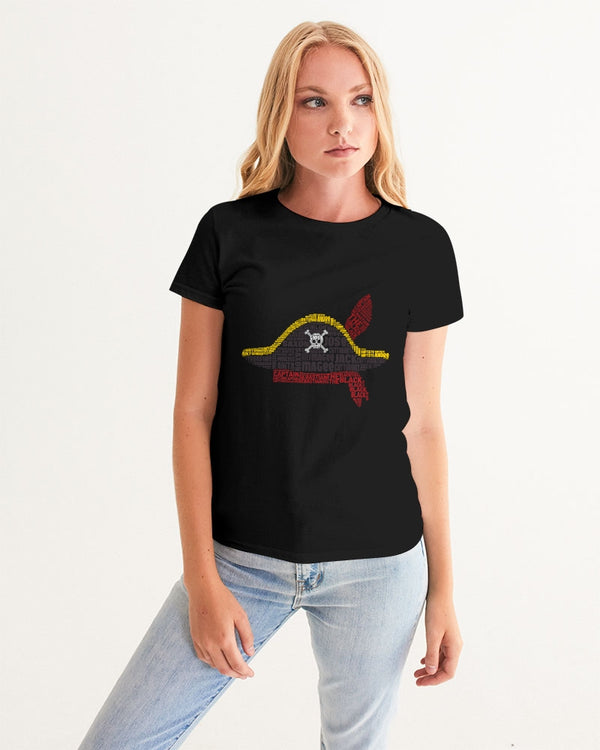 Pirates Cast Hat Women's Graphic Tee - HMC Brands