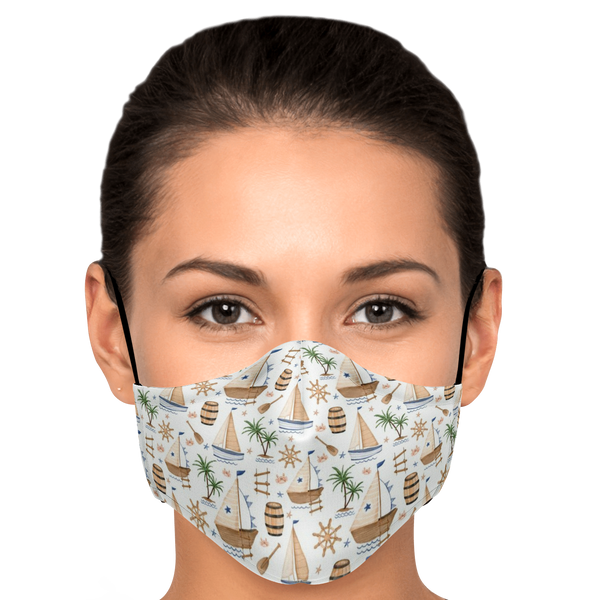 Pirates Marina Face Mask - HMC Brands